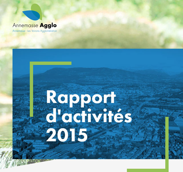 Rapport d'activités 2015 Annemasse Agglo