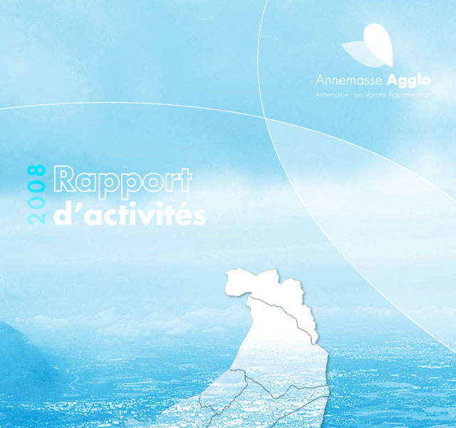 Annemasse Agglo - Rapport d'activités 2008