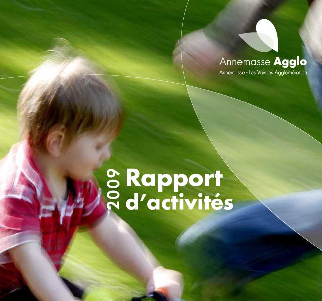 Annemasse Agglo - Rapport d'activités 2009