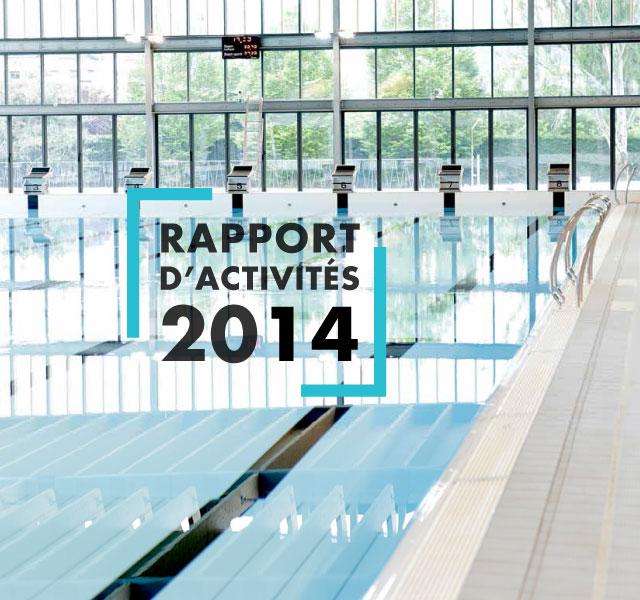 Rapport d'activités 2014 Annemasse Agglo