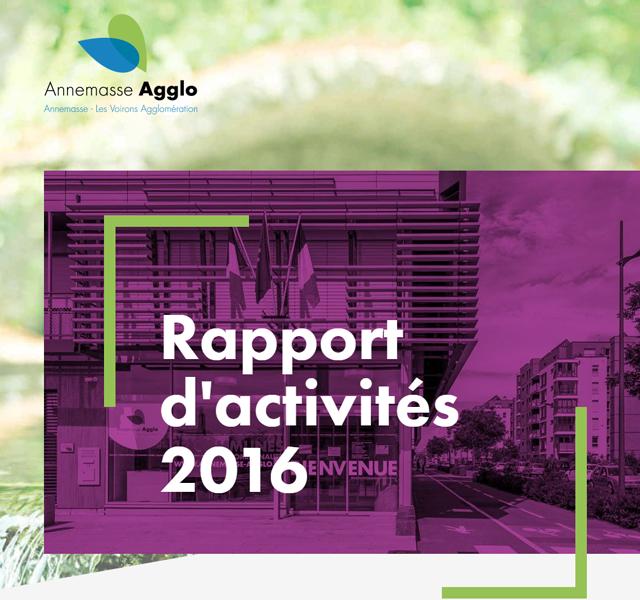 Annemasse-Agglo Rapport d'activités 2016