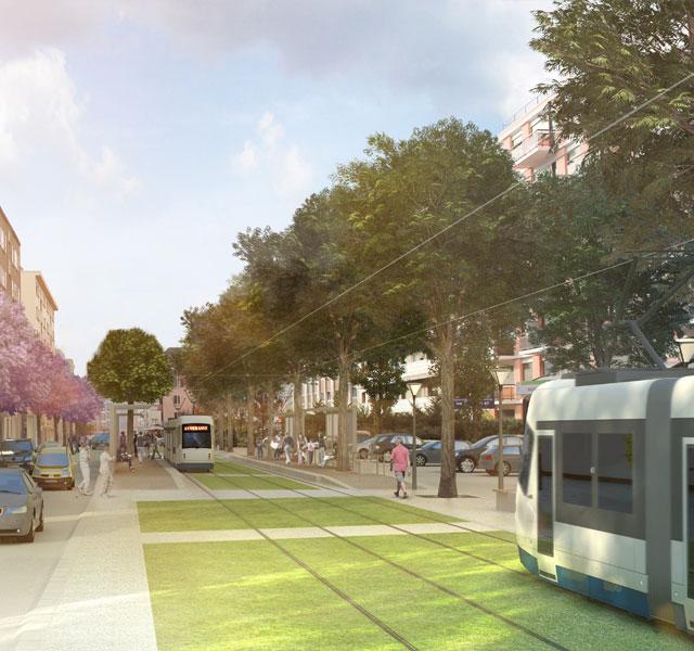 Le tramway, un chantier global pour une agglo reliée
