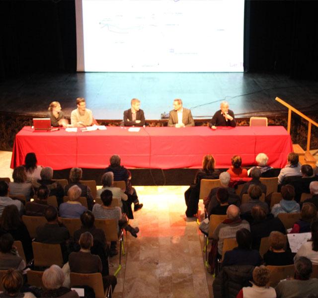 Réunion publique dans le cadre du projet tram Annemasse-Genève