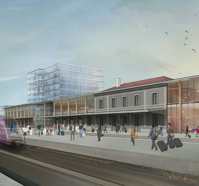 Future gare d'Annemasse