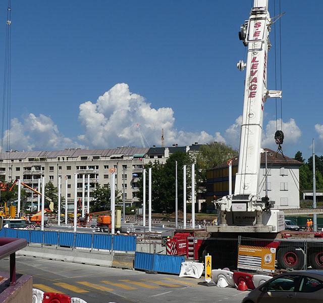 Tram Annemasse Genève : réfection du franchissement du Foron