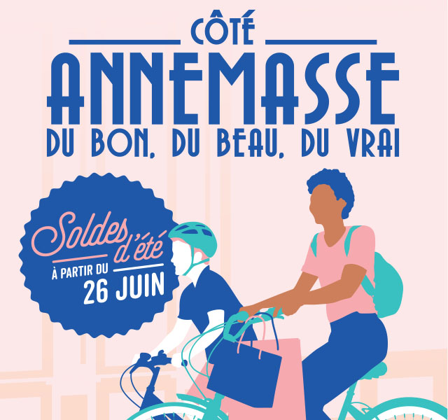 Côté Annemasse - campagne de communication soldes