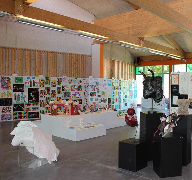 EBAG - exposition de travaux d'élèves