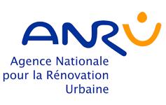 Logo Agence nationale du renouvellement urbain