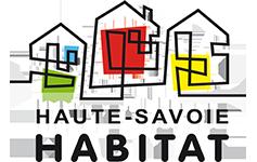 Logo Haute Savoie HABITAT