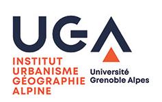 Logo Institut d'urbanisme de Grenoble.