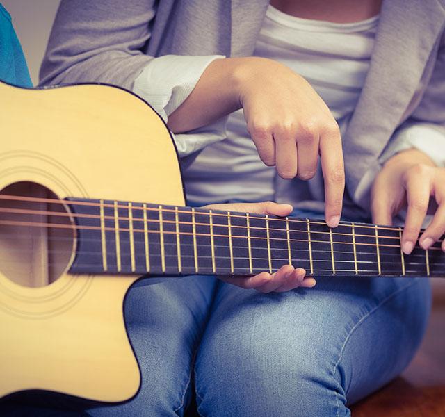 Musique cours de guitare