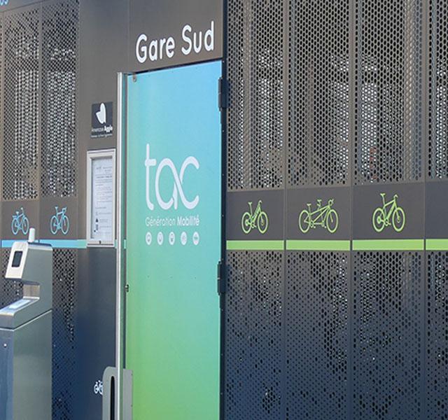 Consigne vélos Gare d'Annemasse